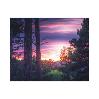 South Dakota Sunset Canvas Print