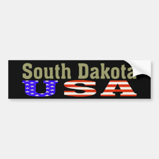 South Dakota USA! Bumper Sticker