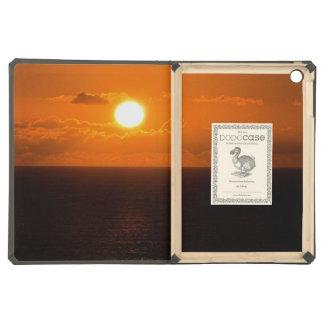South Devon Gara Rock Autumn Sunset . 1 iPad Air Case