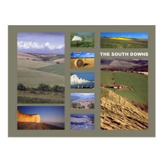 South Downs postcard