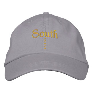 South Embroidered Baseball Cap