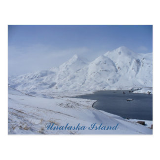 South End of Captain's Bay, Unalaska Island Postcard
