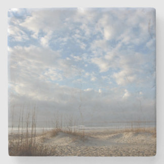 South End, Wrightsville Beach Stone Coaster