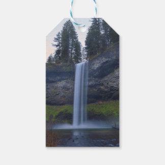 South Falls at Silver Falls State Park Oregon Gift Tags