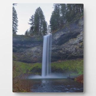 South Falls at Silver Falls State Park Oregon Plaque