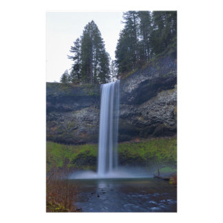 South Falls at Silver Falls State Park Oregon Stationery