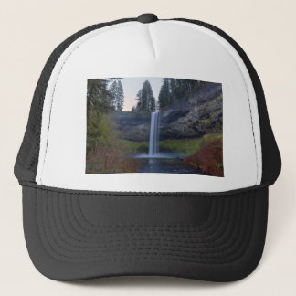 South Falls at Silver Falls State Park Oregon Trucker Hat