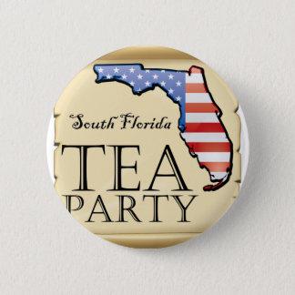 South-Florida-Tea-Party-Logo 2 Inch Round Button