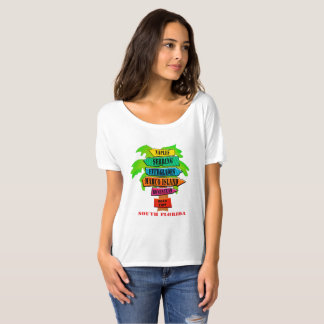 South Florida Towns T-Shirt