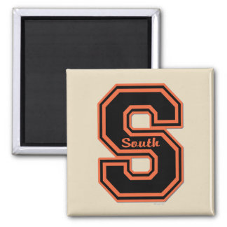 """SOUTH FLYERS """"S"""" #1 MAGNET"""