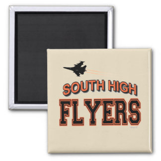 SOUTH  FLYERS Square Magnet