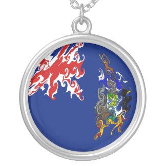 South Georgia Gnarly Flag Necklace