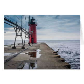 South Haven Lighthouse Notecard