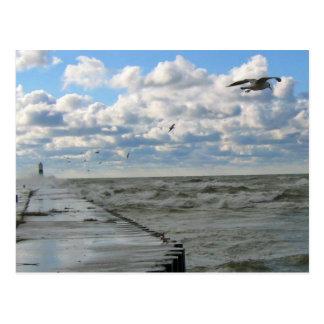 South Haven Pier Postcard