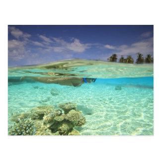 South Huvadhoo Atoll, Southern Maldives, Indian Postcard