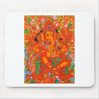 SOUTH INDIAN LORD GANESH TANJORE PAINTING MOUSEPADS