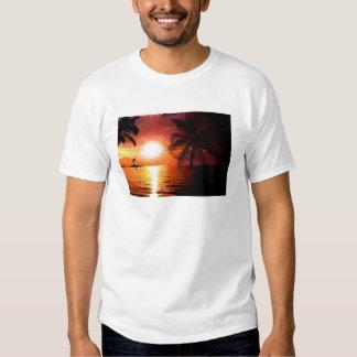 south-island-565242. FANTASY TROPICAL EVENING PALM Shirt
