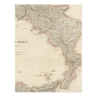 South Italy with The Maltese Islands Postcard