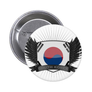 SOUTH KOREA 2 INCH ROUND BUTTON