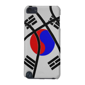 South Korea Basketball iPod Touch Case