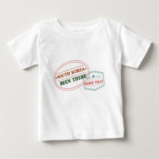 South Korea Been There Done That Baby T-Shirt