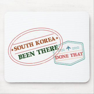 South Korea Been There Done That Mouse Pad
