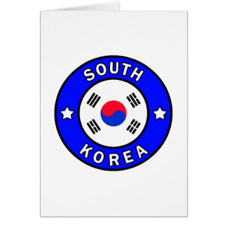 South Korea Card