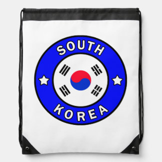 South Korea Drawstring Bag