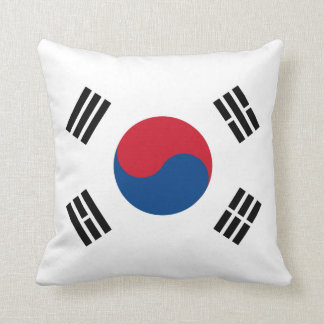 South Korea Flag American MoJo Pillow