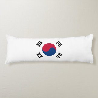 South Korea Flag Body Pillow