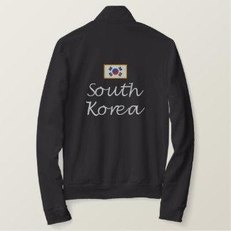 South Korea Flag Embroidered Jacket