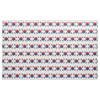 South Korea Flag Fabric