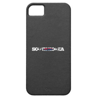 South Korea flag font Case For The iPhone 5