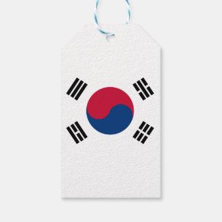 South Korea Flag Gift Tags