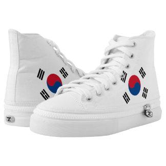 South Korea Flag High Tops