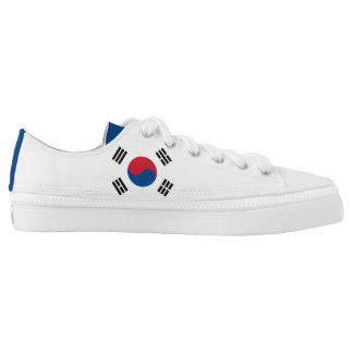 South Korea Flag Low-Top Sneakers