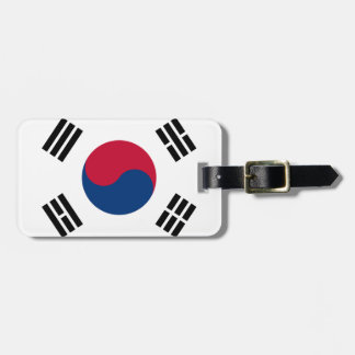 South Korea flag Luggage Tag