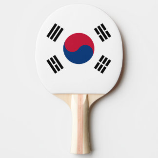 South Korea flag Ping Pong Paddle