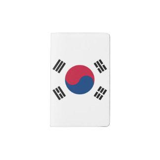 South Korea Flag Pocket Moleskine Notebook