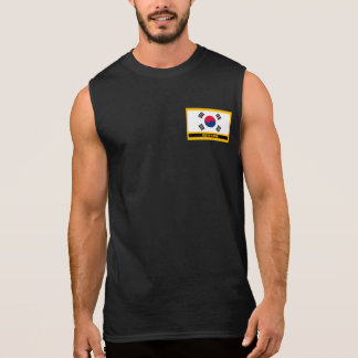 South Korea Flag Sleeveless Shirt