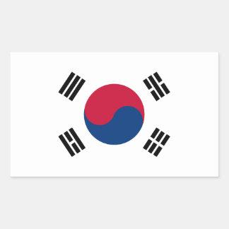 South Korea Flag Sticker