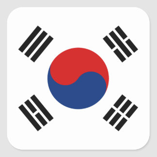 South Korea Flag Sticker