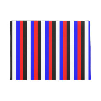 South Korea flag stripes lines colors pattern Doormat