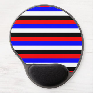 South Korea flag stripes lines colors pattern Gel Mouse Pad