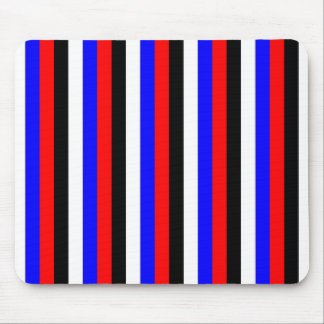 South Korea flag stripes lines colors pattern Mouse Pad