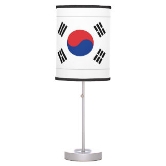 South Korea Flag Table Lamp
