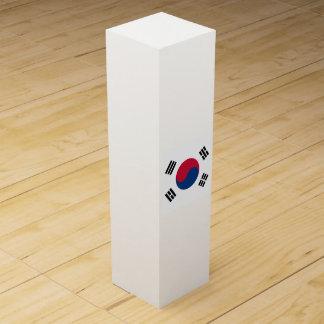 South Korea Flag Wine Gift Box
