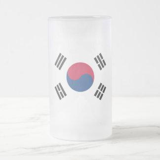 South Korea Frosted Glass Beer Mug