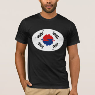 South Korea Gnarly Flag T-Shirt