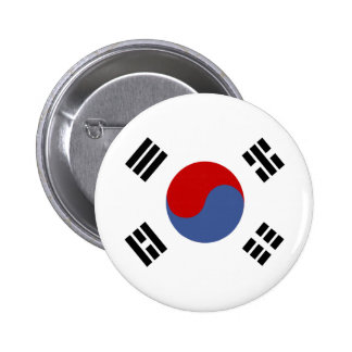 South Korea High quality Flag 2 Inch Round Button